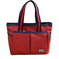 AB SALES Handbags for Women Tote Bag Fashion Travelling Purse Set Hand Shoulder Bags Simple Design Purses for Shopping School Travel Large Pockets(Multi Colour)