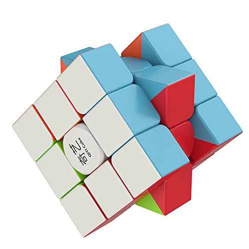 Speed Cube – the Amazing Smart Cube [IQ Tester] 3×3 – Anti Stress for Anti-anxiety Adults Kids – Best Rubix Puzzle Toy [Better than Rubiks Cube] Turns Quicker and More Precisely Than Original