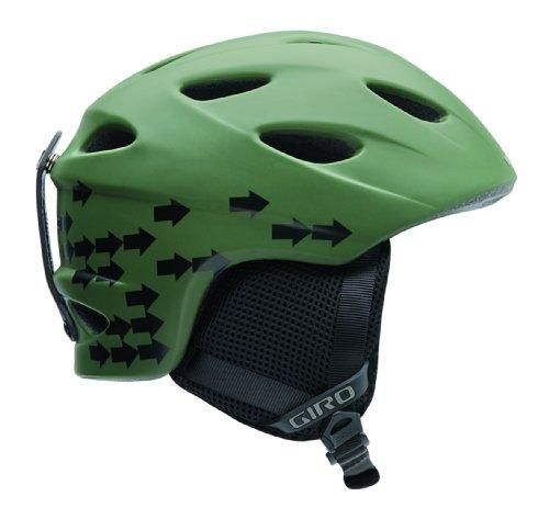 Giro Youth G9JR 2009 Snow Helmet (Matte Olive Arrows, Small), Outdoor Stuffs