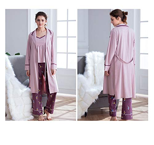 Pantaloni Lingerie Viola Per Seta Pieces Fashion Donna Set Pajamas Senza Three HAOLIEQUAN In Maniche Nightwear Tute Tagliati Sleepwear Summer Slip OAwqxfxnaH