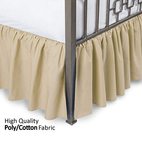 Ruffled Bed Skirt with