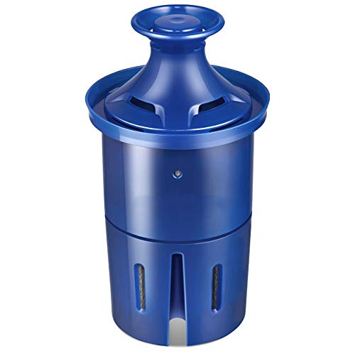 Longlast Water Filter, Longlast Replacement Filters Pitcher Dispensers, Reduces Lead, BPA Free - 1 Count