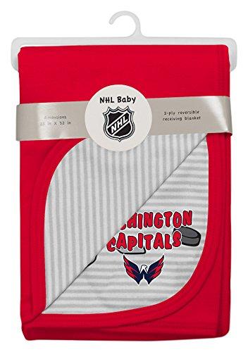 NHL Washington Capitals Children Unisex Lil Center Blanket, 1 Size, Cool Grey