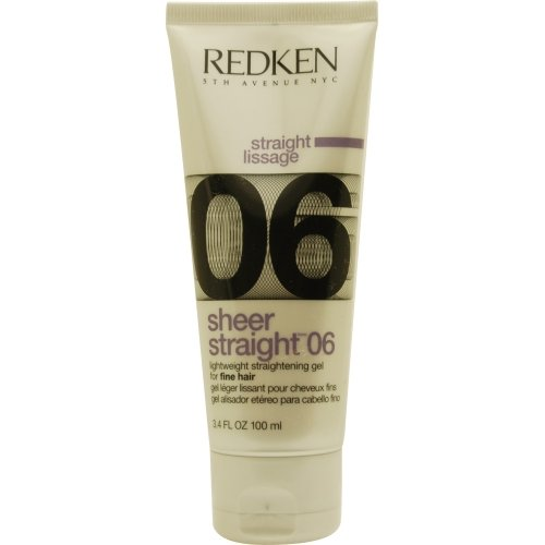 Redken Sheer Straight, Lightweight Straightening Gel, Fine H