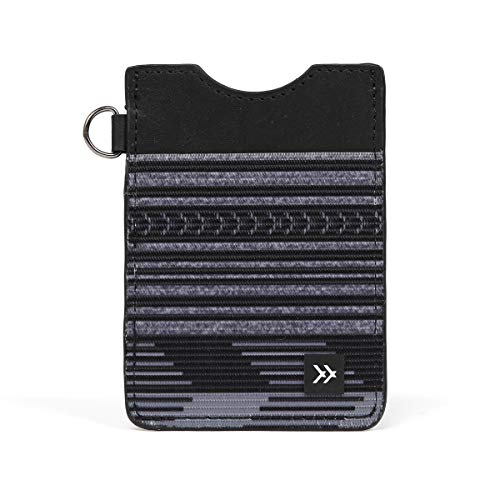 Thread Wallets - Slim Minimalist Wallet - Vertical Card Holder (Amped)