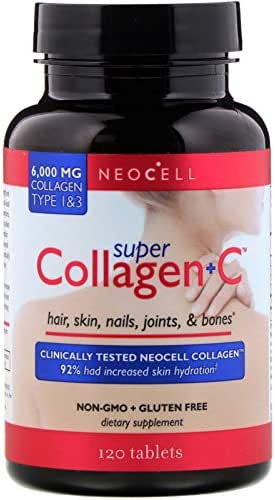 Neocell Super Collagen +C, Type 1&3 120 Tablets Fresh