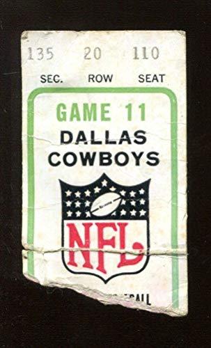 1976 NFC Division Playoff Game Ticket Rams v Cowboys 12/19 Texas Stadium 44794