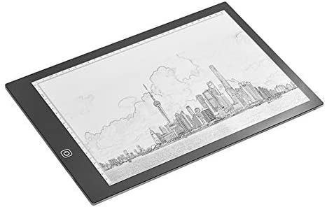 Edmend A4 LED Light Box Tracer Zeichenbrett Elektronisches Zeichenbrett Tablet Pad LCD-Tablet