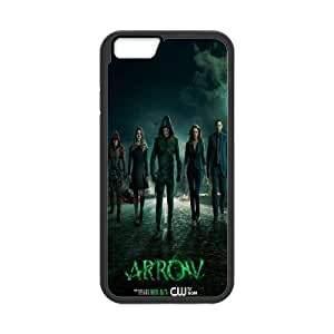 Hot TV Series Green Arrow Pattern Productive Back Phone Case For Apple Iphone 6 Plus 5.5 inch screen Cases -Style-3