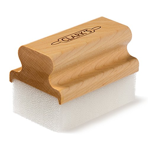 CLARK'S Oil & Wax Large Block Applicator (New V2 Design!) | USA Maple Construction | Chef - Restaurant - Butcher Block - Countertops