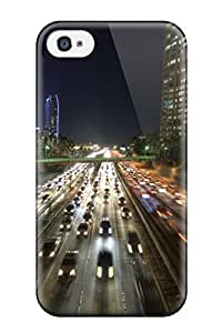 High-quality Durable Protection Case For Iphone 4/4s(locations Los Angeles) by heywan