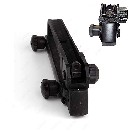Green Blob Outdoors Hunting Sight Adjustable Rear Iron Sight Scope Rail mountable .Tool by Green Blob Outdoors