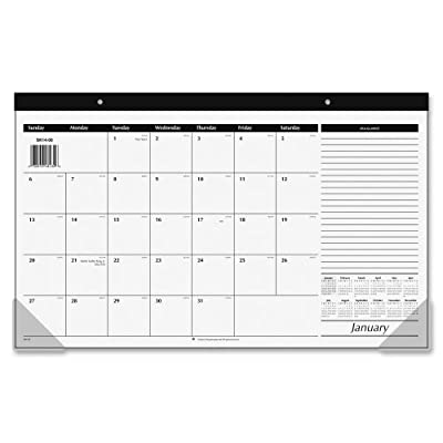 "AT-A-GLANCE Desk Pad Calendar 2017, Compact, 17-3/4 x 10-7/8"" (SK14-00)"