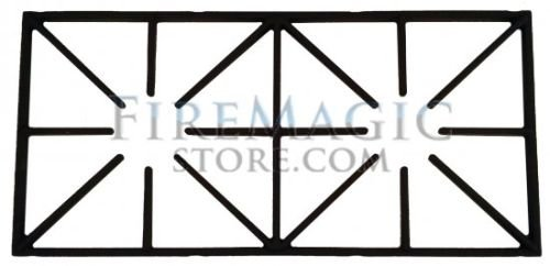 Porcelain Cast Iron Cooking Grid for Double Side Burner by Fire Magic Grills