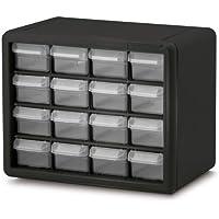 Akro-Mils 10116 16 Drawer Plastic Parts Storage Hardware...