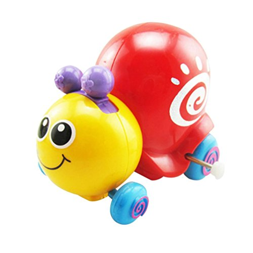YJYdada Funny Clockwork Toy Baby Cute Snails Model Toy Baby Filed Gift for Kids ()