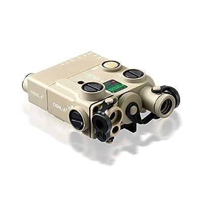 Steiner eOptics Laser Devices Civilian Dual Beam Aiming Laser DBAL-A3, CIVILIAN LEGAL, Class IIIa, Desert Tan from Steiner Binoculars