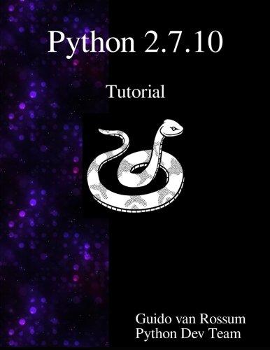 Python 2.7.10 Tutorial: An Introduction to Python