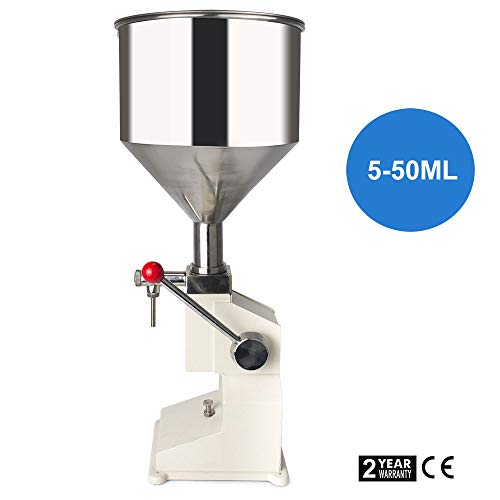 Masterandy Manual Filling Machine Filling 5-50ml Filling Bottle Filler A03