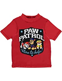 "Paw Patrol Little Boys' Toddler ""Helpful Pups"" Rash Guard"