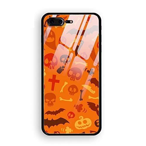 Halloween Symbol Toughened Phone 7/8 Plus Case Slim