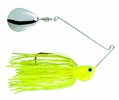 (Strike King Potbelly Spinner Bait (Chartreuse.375-Ounce) Colorado Blades)