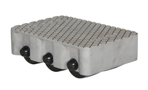 Vestil VPRDO-6T Cast Aluminum Propel Dolly, 3000 lbs Capa...
