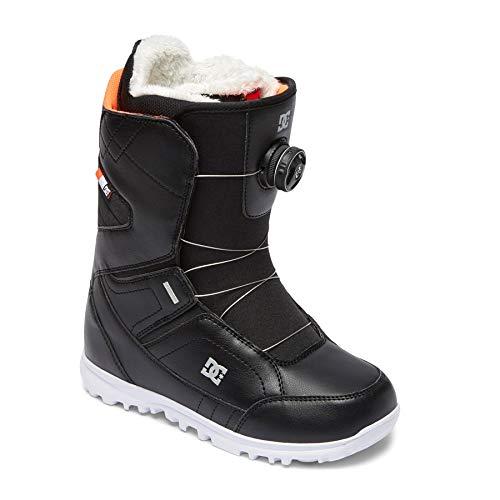 DC Search BOAX Snowboard Boots 7 B(M) US Women / 6 D(M) US Black ()