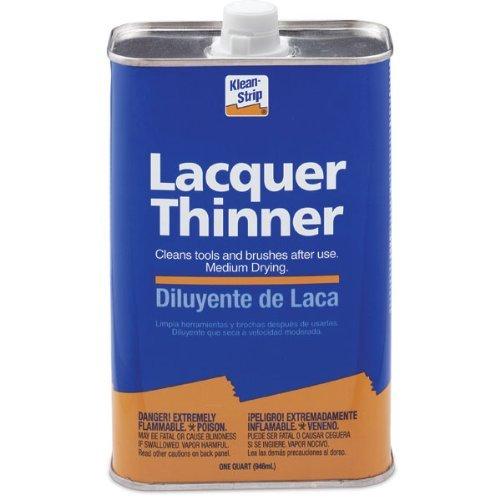 Klean Strip Paint Thinner - Klean-Strip Green QML170 Lacquer Thinner, 1-Quart
