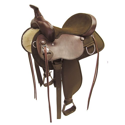 Fabtron Lady Trail Western Saddle 15 (Lady Trail Saddle)
