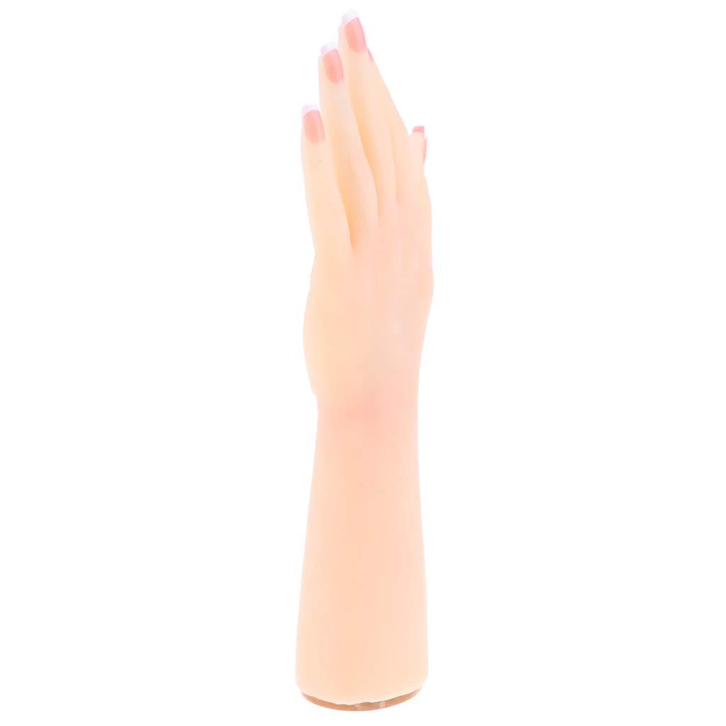D DOLITY 1 Paar Silikon Hand Modell Mannequin//Schaufensterpuppe Hand Dekohand Flexibel und Frei Verstellbar