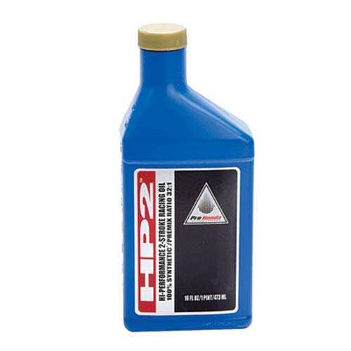 (Genuine Honda Hp2 2 Stroke Motorcycle / Atv Oil 1 Case of 12 Bottles Pt # 08C35-AH21S01)