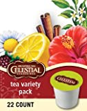 CELESTIAL SEASONINGS TEA VARIETY SAMPLER 88 K CUP PACKS