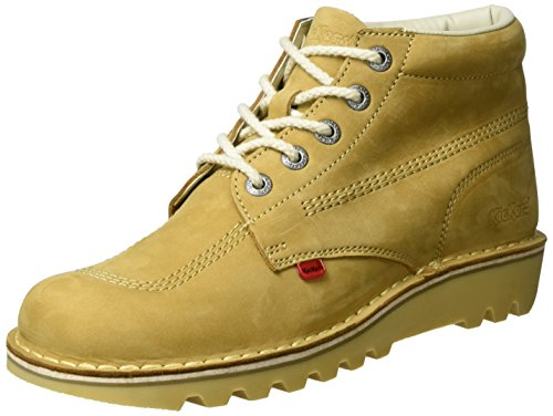 Kickers Shoes Boots - Mens Kickers Kick Hi Tan Boots - 9 UK / 43 EU