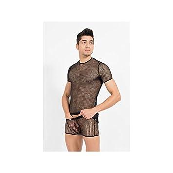 Look Me - T-Shirt Hook - Farbe: weiss - Größe: M, 1 Stück 1 Stück LM41-81WHT-M