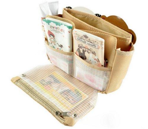 Tangda Tragbare Reisetasche Geldbeutel Handtasch Einkaufstasche Tasche für Reisen - Khaki