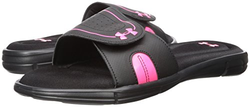 Sandal Vii Armour Black Women's Slide Under cerise Ignite d1Xwzq1t