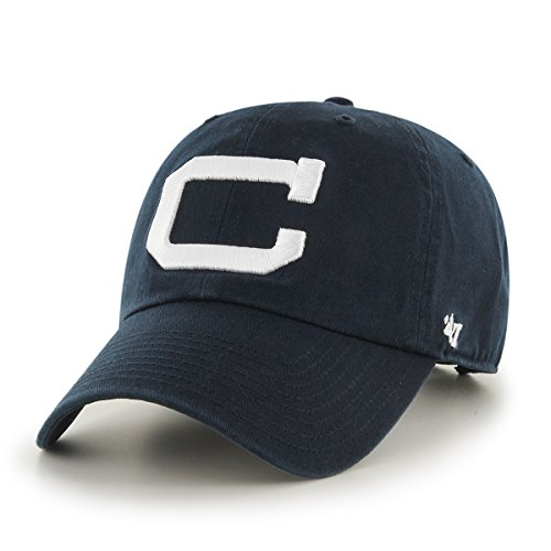 Ncaa Connecticut Huskies Clean Up Adjustable Hat  One Size  Navy