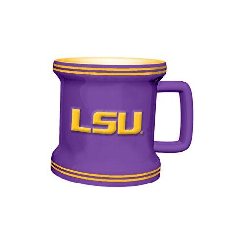 NCAA LSU Tigers Sculpted Mini Mug, 2-ounce