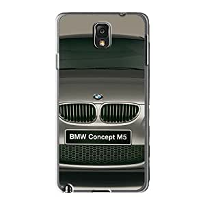 Flexible Tpu Back Case Cover For Galaxy Note3 - Bmw M5 Concept Front