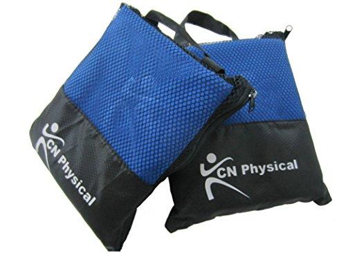 Premium 3 microfibra toalla de Fitness Bundle. Secado Rápido, ideal para gimnasio y viaje, sólo lo que usted necesita para Yoga, deportes, Golf, natación.