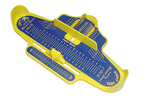 Kids measuring device - blue/yellow - US sizes]()