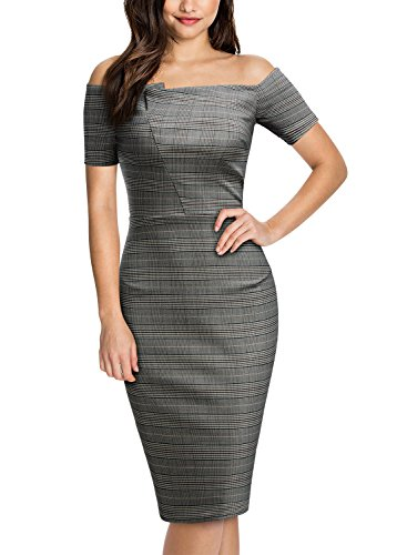 Miusol Womens Shoulder Business Bodycon product image