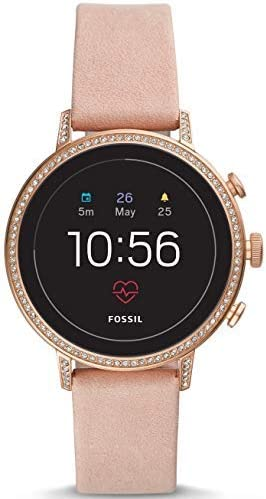 Fossil - Reloj Gen 4 Smartwatch con correa de cuero - FTW6015 ...