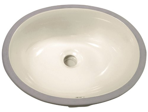 Dowell Undercounter Ceramic Lavatory Sink (Biscuit) 6003 1916B