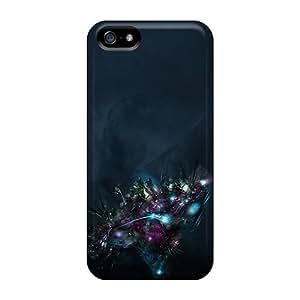 AlikonAdama Iphone 5/5s Well-designed Hard Cases Covers Dark Space War Protector