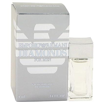 f01764b94cfe Emporio Armani Diamantes por Giorgio Armani para hombre Mini EDT .14 oz 4 ml