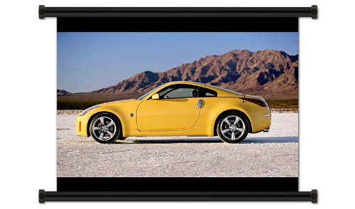 Nissan 350Z Fabric Wall Scroll Poster (32