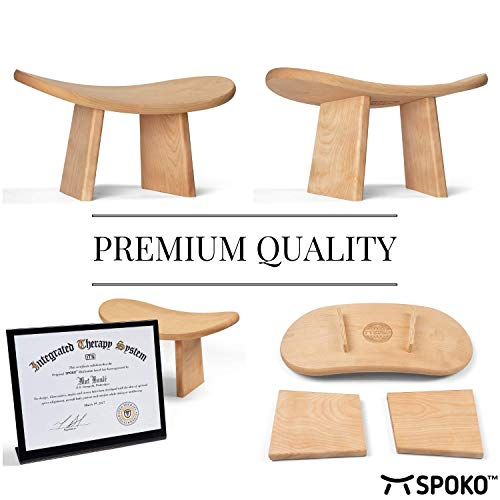 Outstanding Spoko Meditation Bench The Original Kneeling Stool Posture Andrewgaddart Wooden Chair Designs For Living Room Andrewgaddartcom