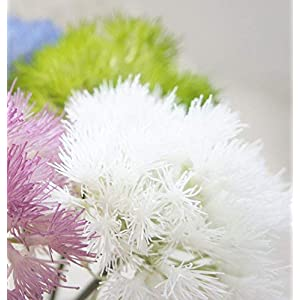 Lily Garden 17 Inch Dandelion Artificial Flowers Set of 6 2